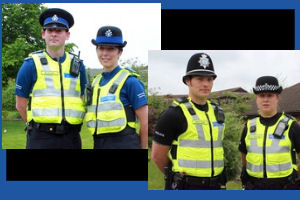 Leicestershire constabulary new uniforms displayed